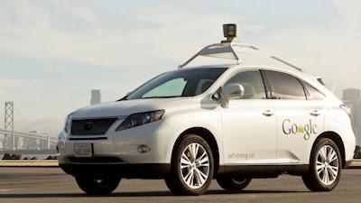 Mobil Otomatis Tanpa Pengemudi Dari Google