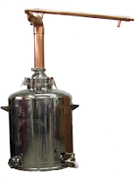 copper pot distiller