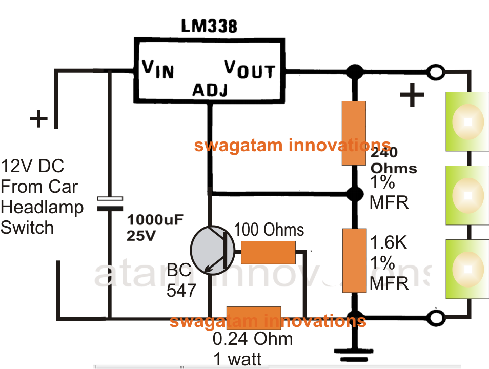 LED Datasheet Highest Performance White Electronic Circuit