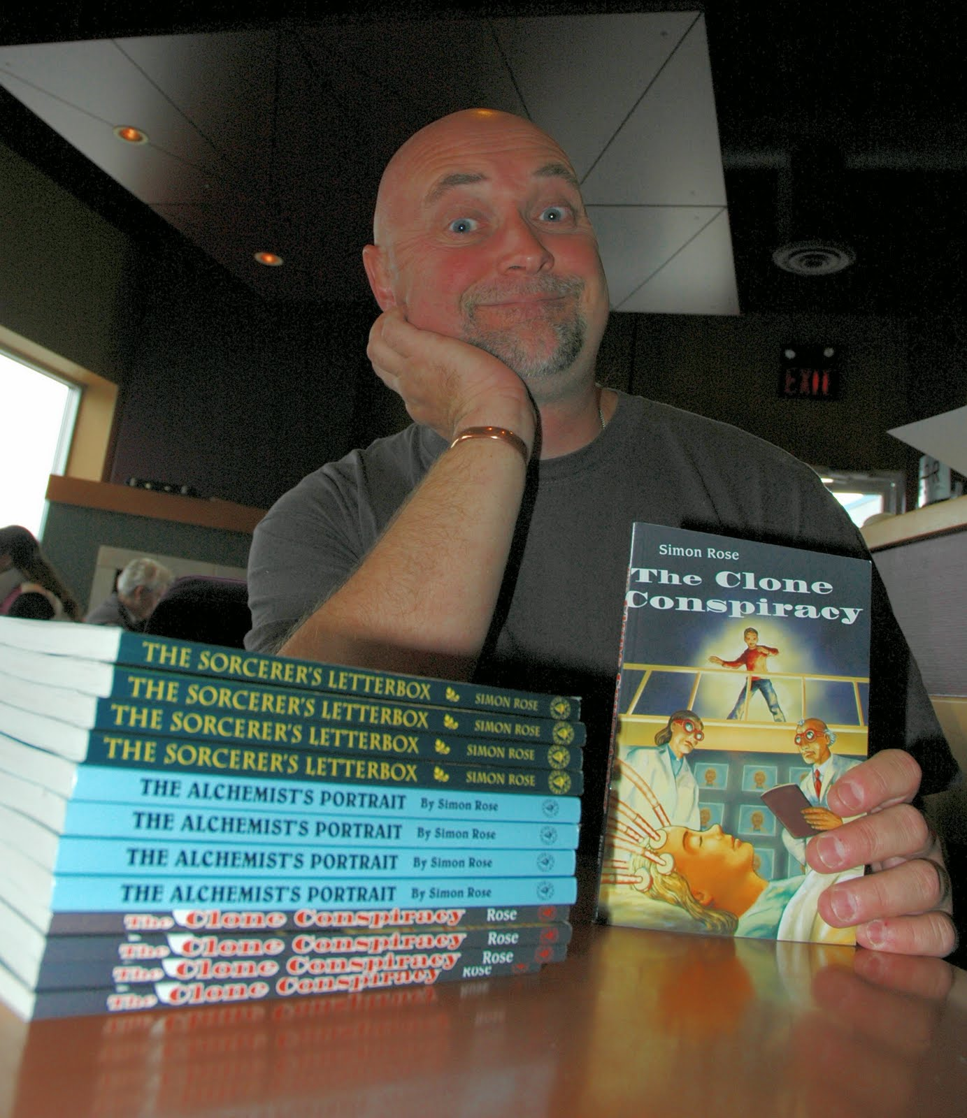 simon rose author writer presenter simon rose com school grade 3 fantasy realms and creatures