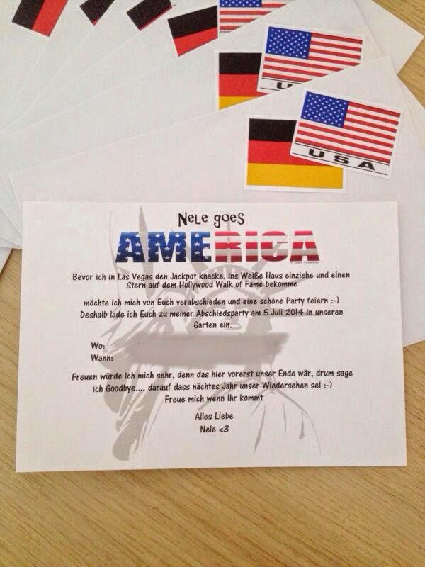 the gapyear us: juni 2014, Einladungen