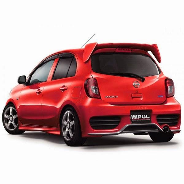 Full Bumper Nissan March IMPUL 13-14