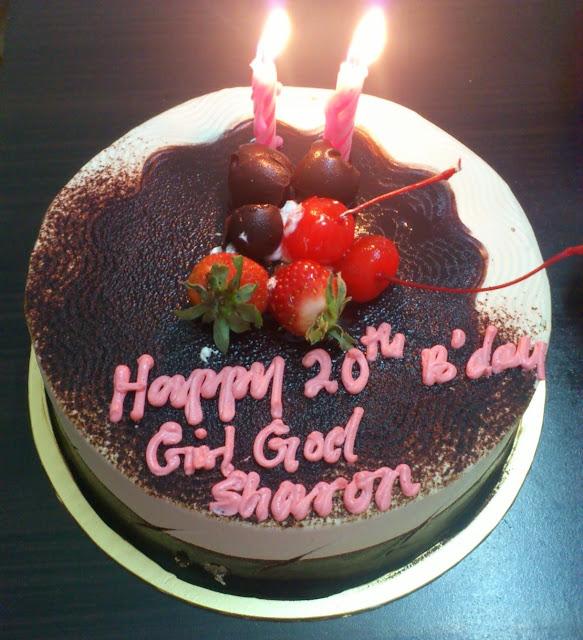 20th Birthday Cake For Girls Happy 20th Birthday Girl God Honey