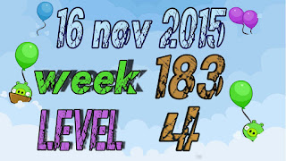 Angry Birds Friends Tournament level 4 Week 183