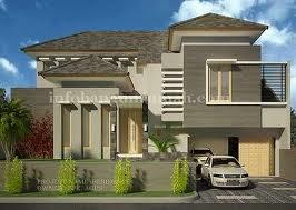 gambar rumah sederhana dua lantai | desain minimalis