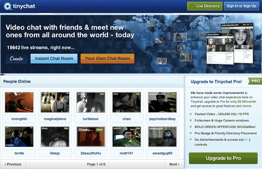 Tinychat Make A Room