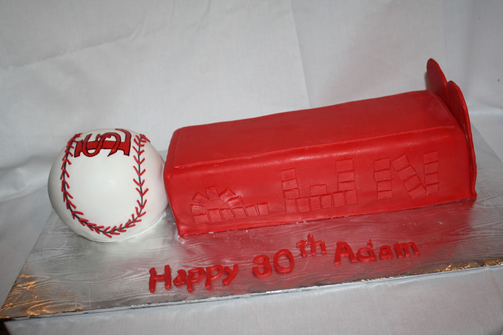 Hock Cakes Llc St Louis Cardinals Pez Dispenser Cake