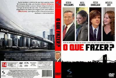 Filme O Que Fazer DVD Capa