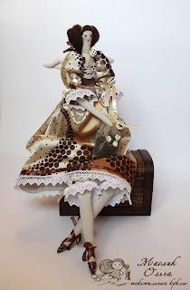 Тильда, Кофейная фея.Текстильная кукла купить