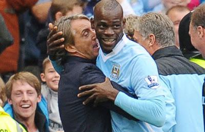 "Mancini: ""Es imposible controlar a Balotelli"""
