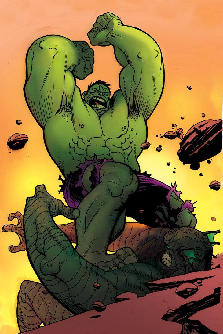 Hulk Filmi Canavarları Yok Et Oyunu