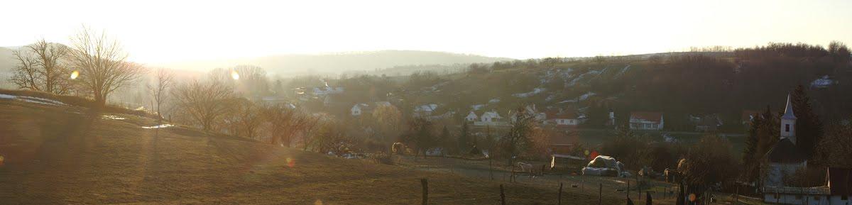 Nyim falu megújítás