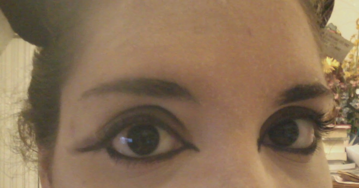 Fail Cat Eye Eyeliner Myspace