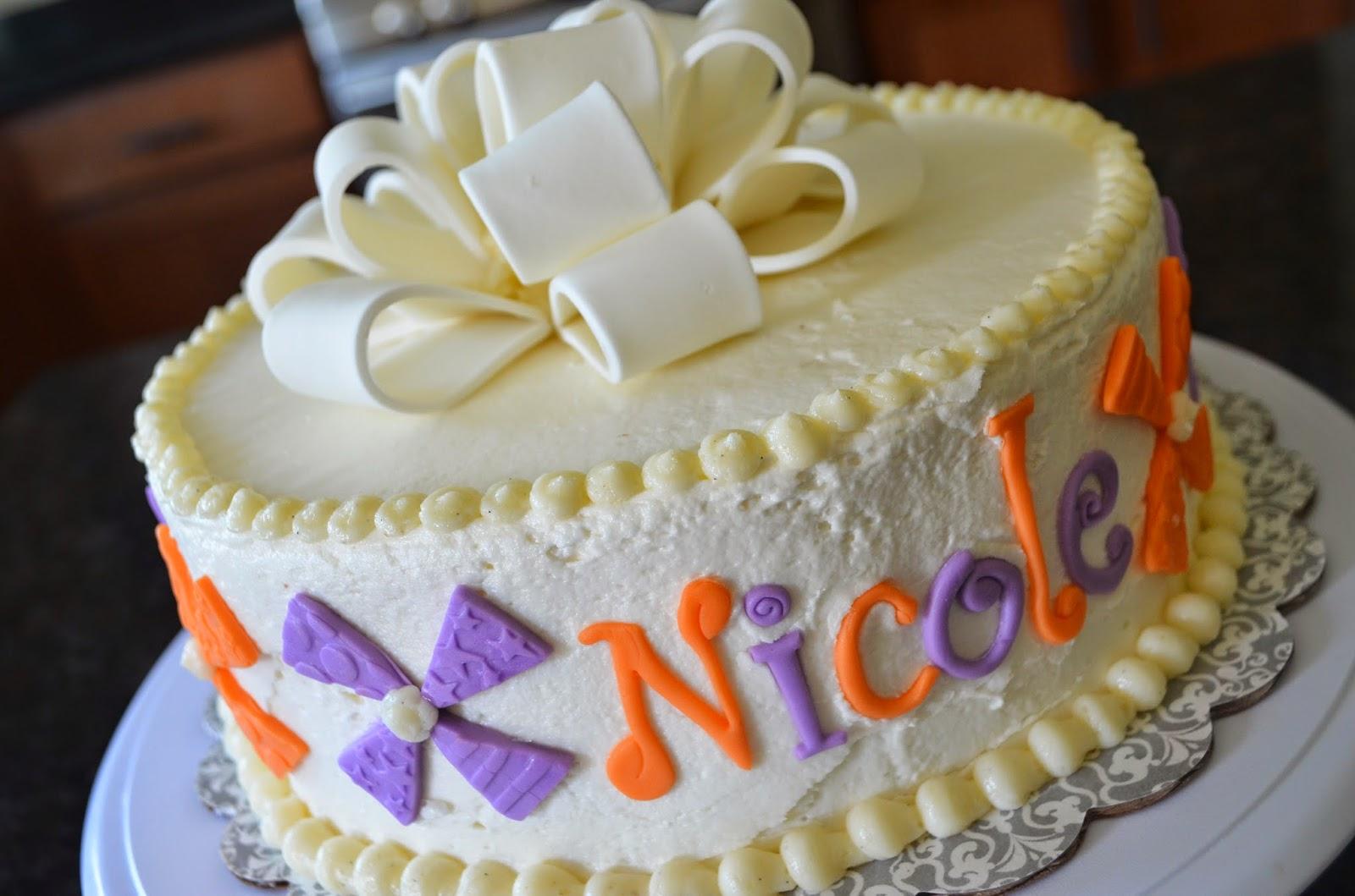 Cake Mama Nicoles Birthday Cake