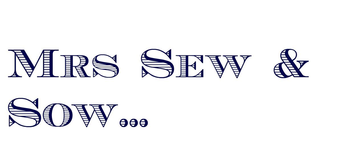 mrs sew & sow