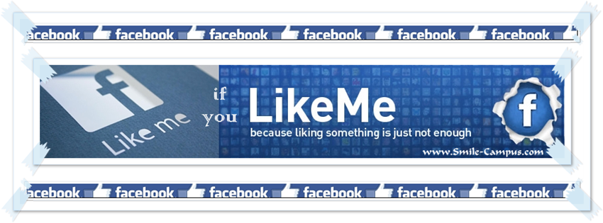 Custom Facebook Timeline Cover Photo Design Tape - 3