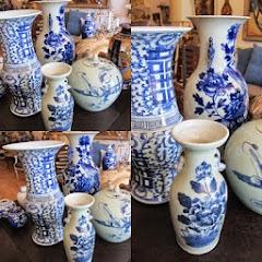 Kina blå-vitt