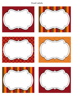 The Creative Cubby: Printable Thanksgiving Place Cards
