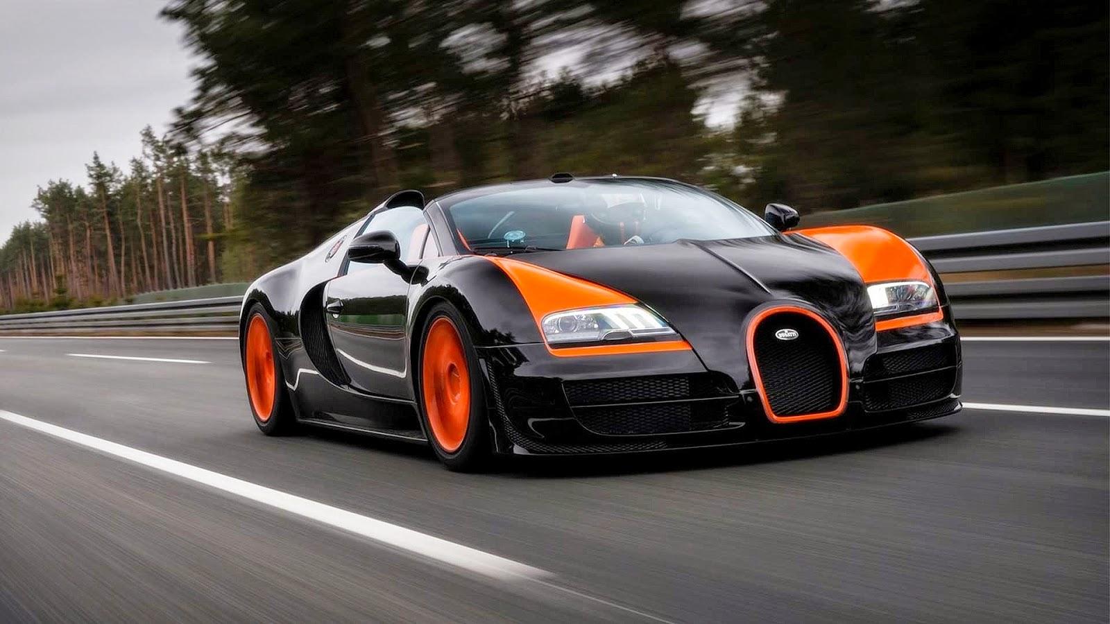 Mobil Tercepat di dunia: 431 km/h (268 mph)