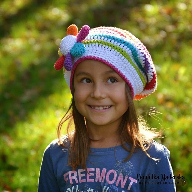 flower crochet hat pattern