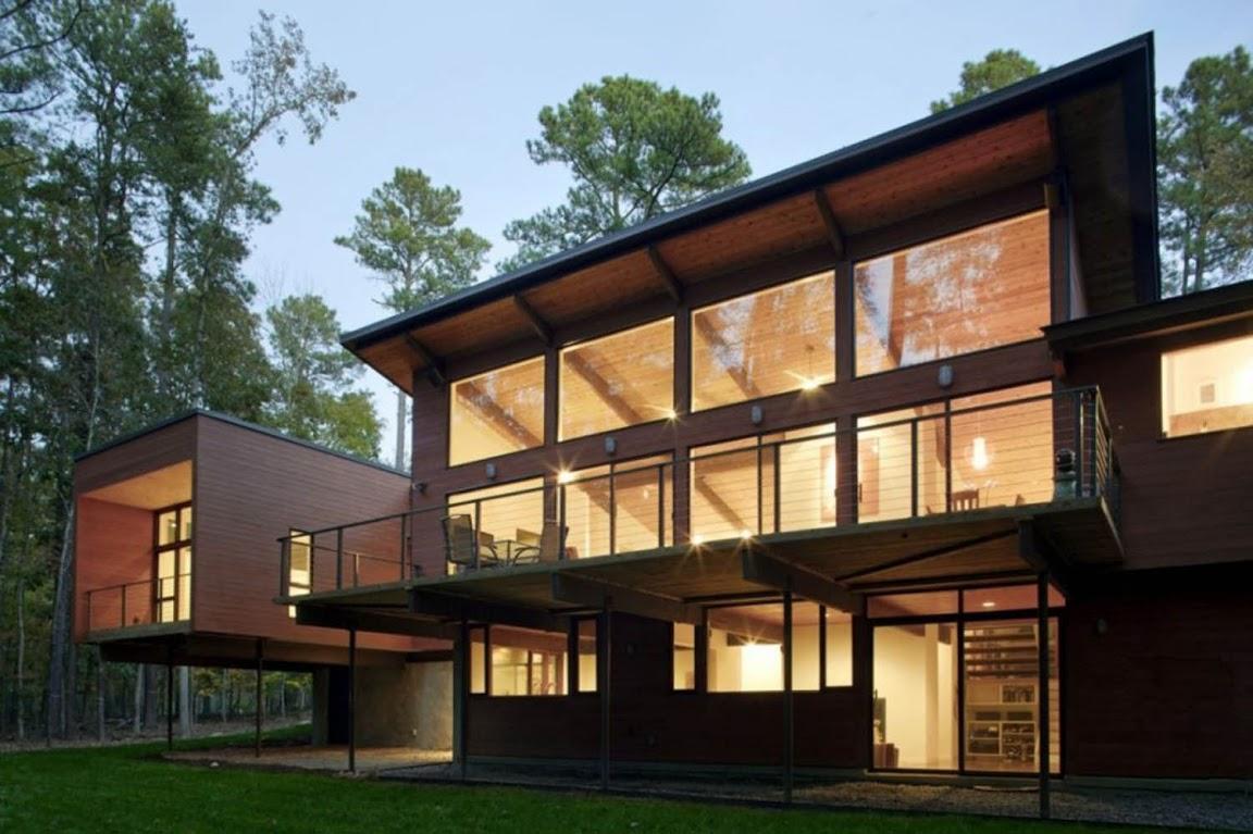 Iluminaci n de fachadas todo sobre fachadas - Iluminacion casas modernas ...