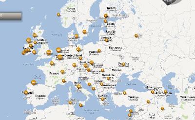 Mapa con imaxes situadas no seu lugar