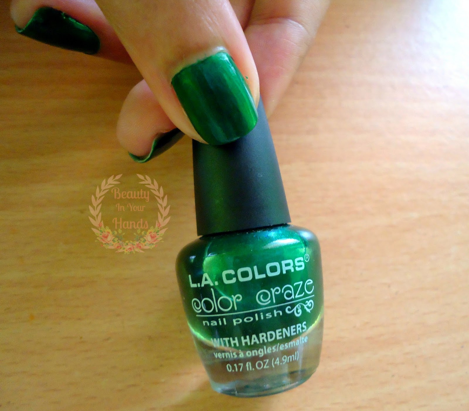 L A Colors Color Craze Nail Polish With Hardeners