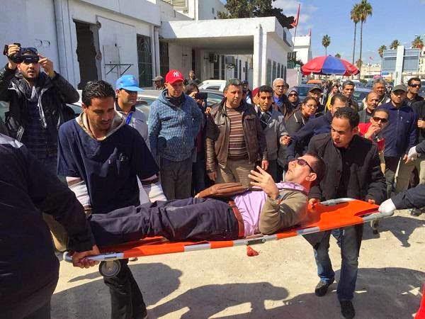 Bilan de l'attaque : L'opération terroriste ayant visé ce mercredi matin 18 mars 2015 le musée de Bardo a fait 8 morts, dont 7 étrangers et une Tunisienne, 6 blessés et 10 otages.
