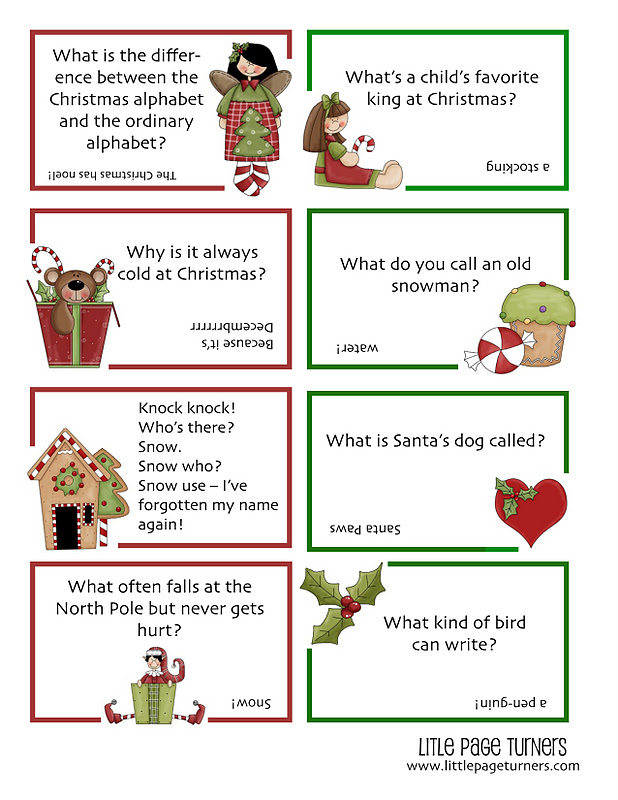 edited i cant find a free file sharing site i like so ive removed the pdf and am providing it below as a jpeg just right click save image as - Childrens Christmas Jokes