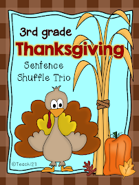 Thanksgiving: Interactive Journal, Fluency, & Wtg.