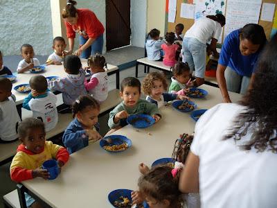 Kinder in Rio De Janeiro