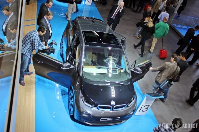 BMW i3 at Frankfurt Motor Show 2013