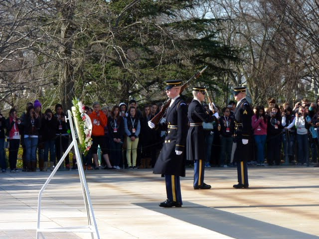 Cambio de Guardia cementerio Arlington