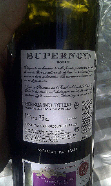 Supernova. Ribera Roble 2013