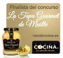 Ganador semanal concurso Mostaza Maille y finalista.