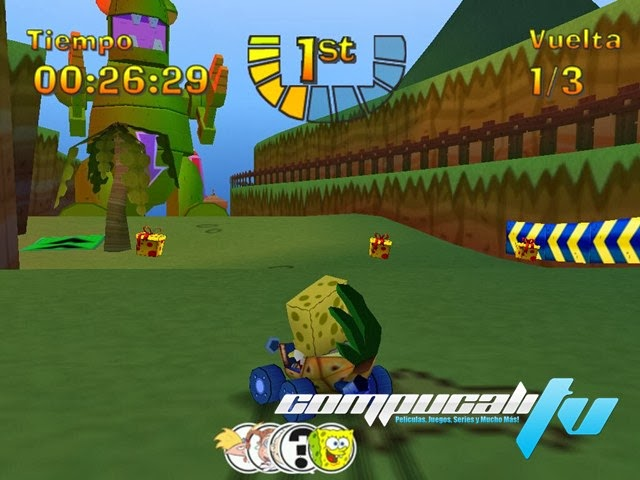 Nicktoons Racing PC Full Español