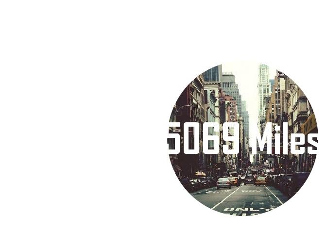 5069 Miles