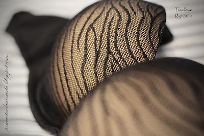 Parfait by Affinitas Ellie 30F Bielizna stanik biustonosz recenzja wzór czarna D+