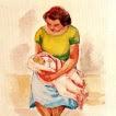'Dona amb nadó (Enric Cristòfor Ricart i Nin)'
