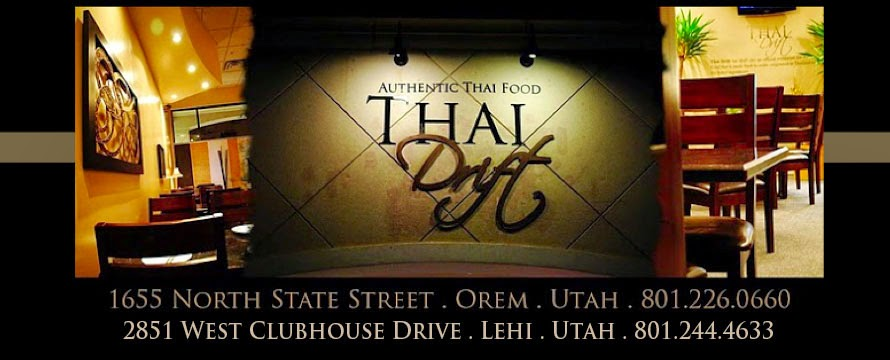 Thai Drift - Orem & Lehi, UT (Official TD Site)