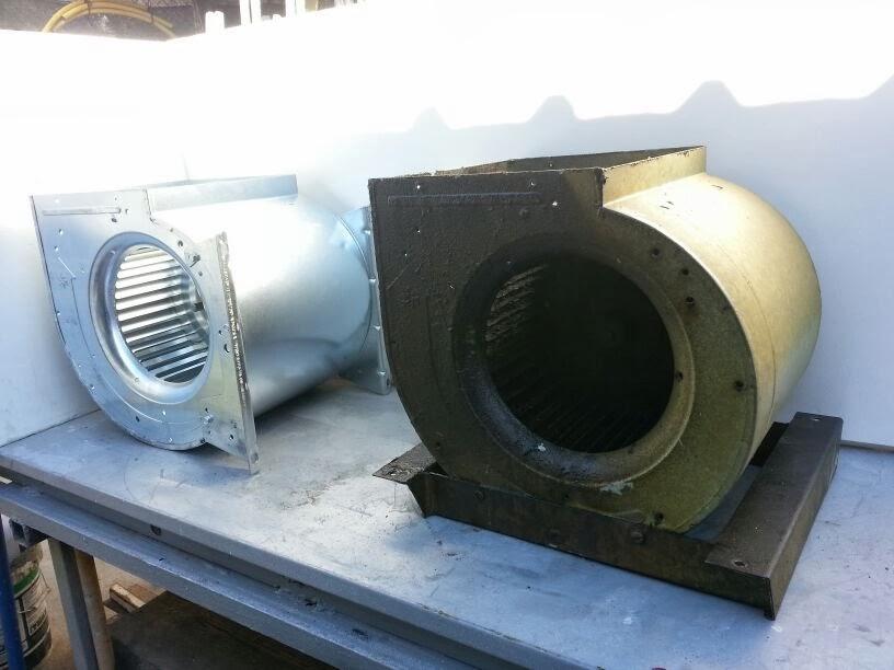 Tubos de chimenea instalar tubos y conductos chimeneas for Limpiar filtros campana aluminio