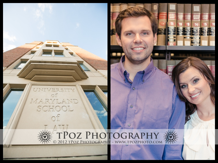 Maryland Law School Library Engagement Photo