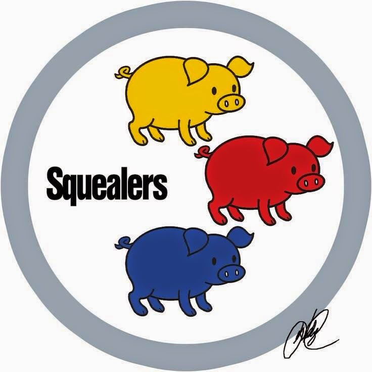 squealers - #squealers #steelershaters #smallpigs