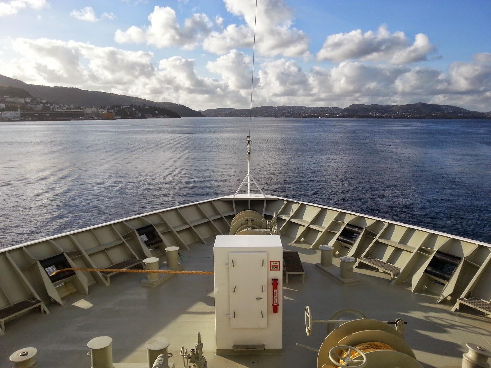 Hurtigruten MS Polarlys - Forward Mooring Deck