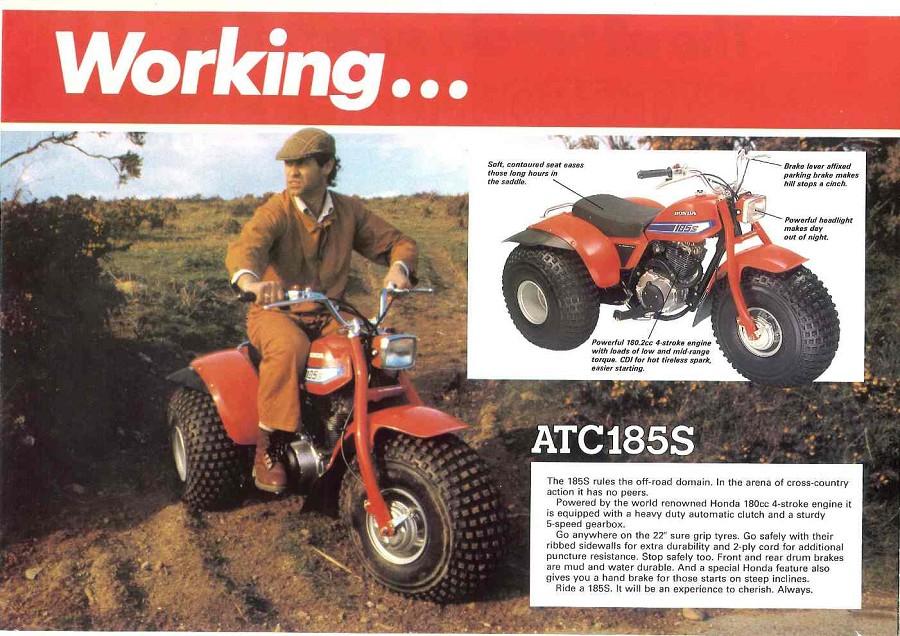 Honda ATV Model History Timeline 1970 Present Honda Of