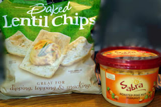 Gluten-Free Sabra Hummis and Lentil Chips