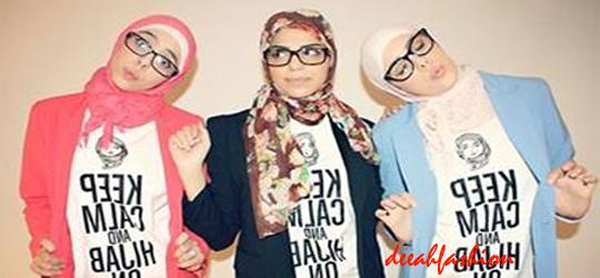Sassy Look Hijab Berjilbab Gaya Unyu