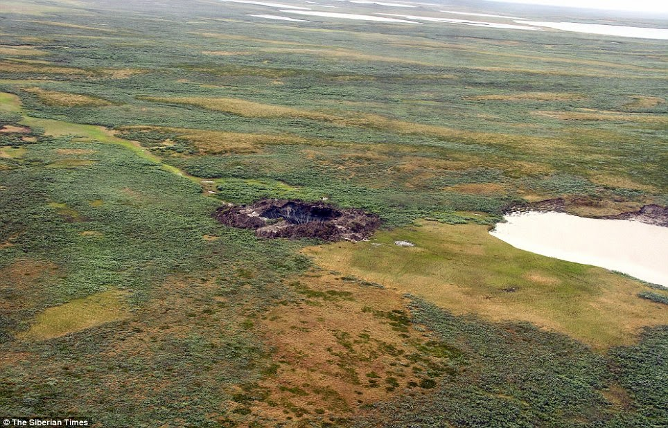 Now Two NEW Mystery Craters Have Appeared in Siberia