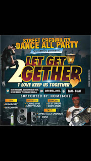 STREET CREDIBILITY DANCE FOR ALL PARTIES