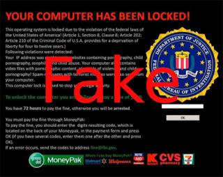 entfernen FBI Virus Black Screen